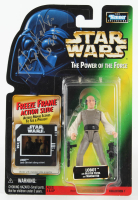 "John Hollis Signed ""Star Wars: The Power of the Force"" Kenner Lobot Action Figure Inscribed ""Lobot"" (Beckett COA) at PristineAuction.com"
