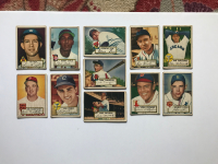 Lot of (11) 1952 Topps Baseball Cards With Vernon Law #81, Bobby Avila #257, Vern Stephens #84, Johnny Lipon #89 at PristineAuction.com
