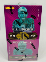 2020 Panini Illusions Football Blaster Box with (6) Packs at PristineAuction.com