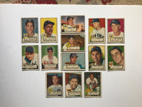 Lot of (14) 1952 Topps Baseball Cards With John Sain #49, Monte Kennedy #124, Johnny Mize #129, Don Bollweg #128 RC at PristineAuction.com