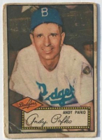 Andy Pafko 1952 Topps #1 at PristineAuction.com