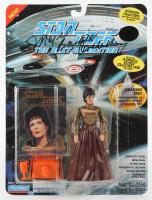 "Majel Barrett-Roddenberry Signed ""Star Trek: The Next Generation"" Playmates Action Figure (Beckett Hologram) at PristineAuction.com"