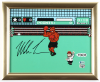 """Mike Tyson Signed """"Punch-Out!!"""" 13x16 Custom Framed Photo Display (Beckett Hologram & Fiterman Sports Hologram) at PristineAuction.com"""