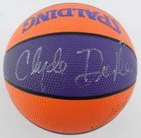 Grant Hill & Clyde Drexler Signed Suns Mini Basketball (PSA LOA) at PristineAuction.com