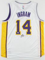 Brandon Ingram Signed Lakers Jersey (Fanatics Hologram) at PristineAuction.com