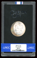 1884 CC $1 Morgan Silver Dollar GSA Hoard (NGC MS 63) at PristineAuction.com