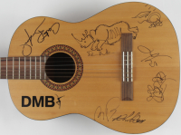 """Dave Matthews Band"" 39"" Acoustic Guitar Band-Signed by (6) with Dave Matthews, Boyd Tinsley, Carter Beauford, Tim Reynolds, Stephen Lessard, Jeff Coffin (JSA ALOA) at PristineAuction.com"