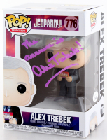"Alex Trebek Signed ""Jeopardy"" #776 Funko Pop! Vinyl Figure Inscribed ""The Answer Is"" (JSA COA) at PristineAuction.com"