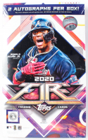 2020 Topps Fire Baseball Hobby Box with (20) Packs at PristineAuction.com