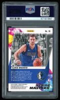 Luka Doncic 2019-20 Panini Mosaic Stare Masters #18 (PSA 10) at PristineAuction.com