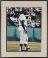Hank Aaron Signed Braves 20.25x24.5 Custom Framed Photo (JSA ALOA) at PristineAuction.com