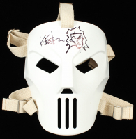 "Kevin Eastman Signed TMNT ""Casey Jones"" Authentic NECA Full-Size Mask with Hand-Drawn Casey Jones Sketch (Beckett COA) at PristineAuction.com"