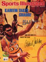 Kareem Abdul-Jabbar Twice-Signed Lakers 8x10 Photo (Beckett COA) at PristineAuction.com