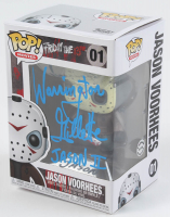 "Warrington Gillette Signed ""Friday the 13th"" #01 Jason Voorhees Funko Pop! Vinyl Figure Inscribed ""Jason II"" (Legends COA) at PristineAuction.com"