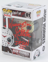 "Warrington Gillette Signed ""Friday the 13th"" #01 Jason Voorhees Funko Pop! Vinyl Figure Inscribed ""Jason II"" (Legends COA) at PristineAuction.com"