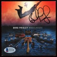 "Brad Paisley Signed ""Wheelhouse"" CD Booklet (Beckett COA) at PristineAuction.com"