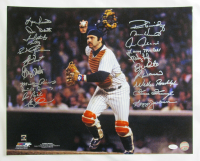 1978 Yankees 16x20 Photo Team-Signed by (21) with Reggie Jackson, Goose Gossage, Lou Piniella, Don Gullett, Fred Stanley (JSA COA) at PristineAuction.com