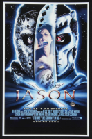 "Kane Hodder Signed ""Jason X"" 11x17 Print Inscribed ""Jason 7,8,9,X"" (Legends COA) at PristineAuction.com"