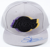 Snoop Dogg Signed Lakers Snapback Hat (Beckett COA) at PristineAuction.com