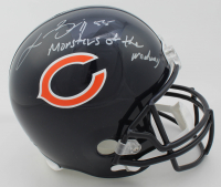 "Lance Briggs Signed Bears Full-Size Helmet Inscribed ""Monsters of the Midway"" (Beckett COA) at PristineAuction.com"