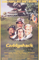 """Cindy Morgan & Michael O'Keefe Signed """"Caddyshack"""" 11x17 Photo Inscribed """"Lacy"""" & """"Noonan"""" (Schwartz Sports COA) at PristineAuction.com"""