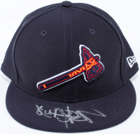Quavo Signed Braves Hat (Beckett COA) at PristineAuction.com