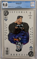 "2000 ""Superman"" Issue #160 DC Comic Book (CGC 9.0) at PristineAuction.com"