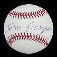 Julio Rodriguez Signed OML Baseball (JSA Hologram) at PristineAuction.com