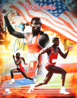 Carl Lewis Signed Team USA 16x20 Photo (JSA COA) at PristineAuction.com