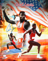 Carl Lewis Signed Team USA 16x20 Photo (JSA COA) at PristineAuction.com
