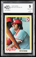 Pete Rose 1978 Topps #20 DP (BCCG 9) at PristineAuction.com