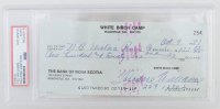 """Theodore """"Ted"""" Williams Signed Hand-Written 1981 Personal Bank Check (PSA Encapsulated) at PristineAuction.com"""