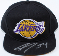 Shaquille O'Neal Signed Lakers Snapback Hat (Beckett COA) at PristineAuction.com
