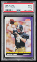 Brett Favre 1991 Score #611 RC (PSA 9) at PristineAuction.com