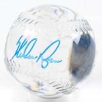 Nolan Ryan Signed 1996 All-Star Game Commemorative Glass Baseball (PSA COA) at PristineAuction.com