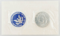 1971 Eisenhower Uncirculated Silver Dollar with Original Packaging at PristineAuction.com