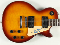 "Les Paul Signed 39"" Electric Guitar Inscribed ""Keep Rockin!"" (Beckett COA) at PristineAuction.com"