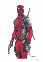 Thang Nguyen - Deadpool - Marvel Comics - 8x12 Signed Limited Edition Giclee on Fine Art Paper #/50 at PristineAuction.com