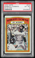 Roberto Clemente 1972 Topps #310 In Action (PSA 6) at PristineAuction.com