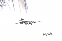 """Thang Nguyen - Rey - """"Star Wars"""" - 8x12 Signed Limited Edition Giclee on Fine Art Paper #/50 at PristineAuction.com"""