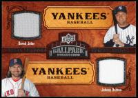 Derek Jeter / Johnny Damon 2008 Upper Deck Ballpark Collection #200 at PristineAuction.com