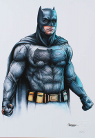 "Thang Nguyen - Batman - ""Batman v Superman"" - 8x12 Signed Limited Edition Giclee on Fine Art Paper #/50 at PristineAuction.com"