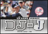 Derek Jeter 2009 Upper Deck UD Game Jersey #GJDJ at PristineAuction.com