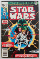 "1977 ""Star Wars"" First Issue Marvel Comic Book at PristineAuction.com"
