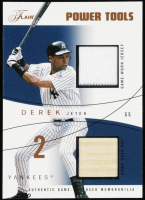 Derek Jeter 2004 Flair Power Tools Game Used Copper #DJ #28/75 at PristineAuction.com