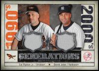 Cal Ripken Jr. / Derek Jeter 2008 SP Legendary Cuts Generations Dual Memorabilia #CD at PristineAuction.com