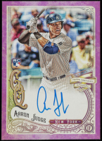 Aaron Judge 2017 Topps Gypsy Queen Autographs Purple #GQAAJ RC #017/150 at PristineAuction.com