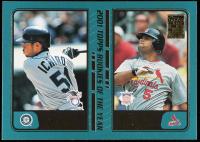 Ichiro Suzuki / Albert Pujols 2001 Topps Traded #T99 ROY at PristineAuction.com