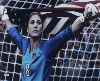 Hope Solo Signed Team USA 16x20 Photo (PSA COA) at PristineAuction.com