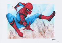 "Thang Nguyen - Spider-Man - ""Spider-Man: Homecoming"" - 8x12 Signed Limited Edition Giclee on Fine Art Paper #/50 at PristineAuction.com"